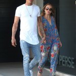 Hot Felon,Jeremy Meeks And Billionaire Heiress,Chloe Green Spotted In LA
