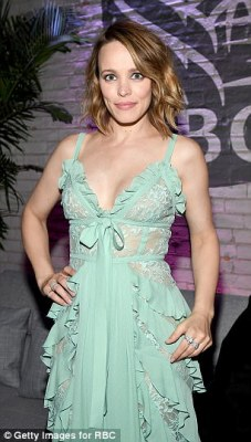 Rachel McAdams, pictured on September 10, also came forward to express how she was harassed by the director when auditioning for the film Harvard Man