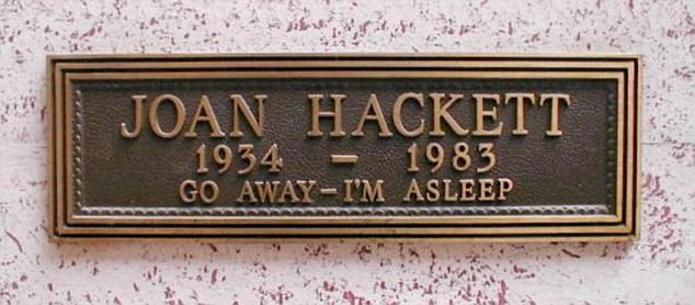 Hostile: A series of photos reveal how some people use their epitaphs as a chance to crack one last joke. This person chose to send a clear message to potential visitors coming to their grave
