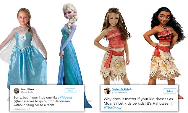 Going as Disney's Moana for Halloween could be racist