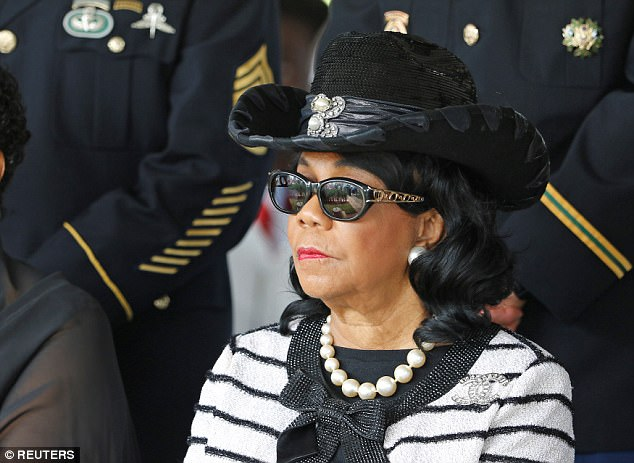 U.S. Rep. Frederica Wilson, who sparked the condolence-call controversy by criticizing Trump on television, attended the slain soldier's funeral last week