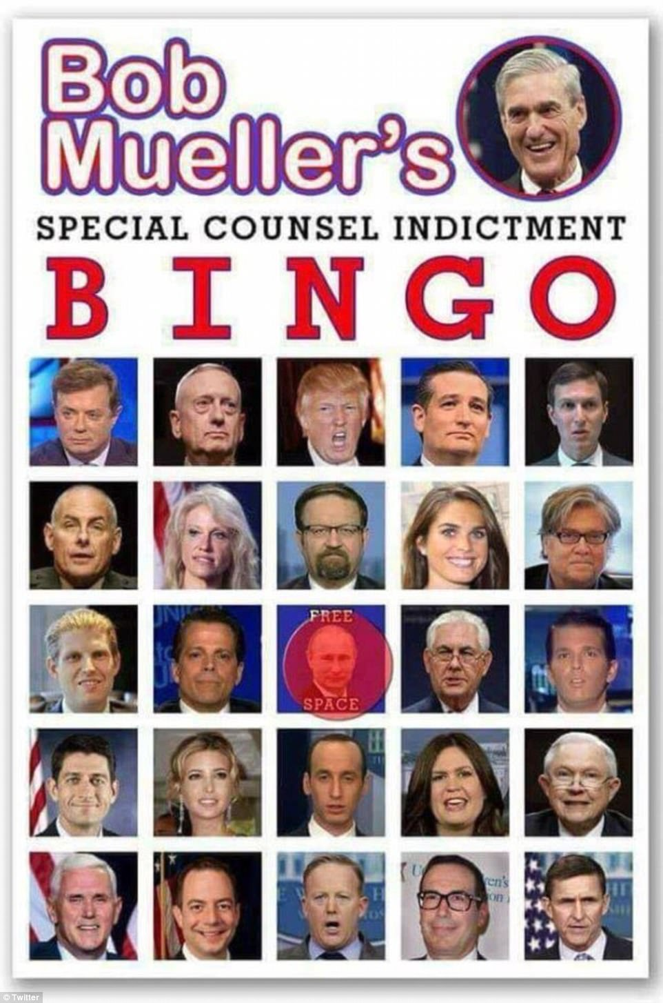Image result for trump bingo card of faces