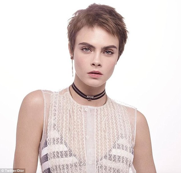 Cara Delevingne, 25, has been named the new face of Dior's anti-ageing skincare line Capture, but not everyone is impressed with the choice of model