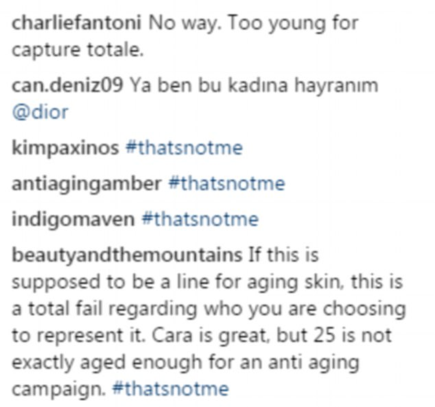 Fans Blast Dior For Using Cara Delevingne as the Face of Its Anti-ageing Skincare line