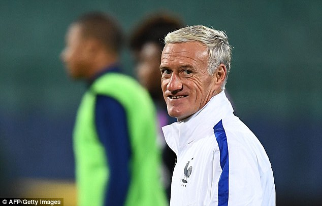 Deschamps took over as France boss from Laurent Blanc after Euro 2012 in Poland and Ukraine