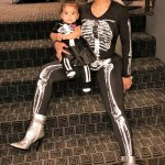 Blac Chyna And Kids For Halloween