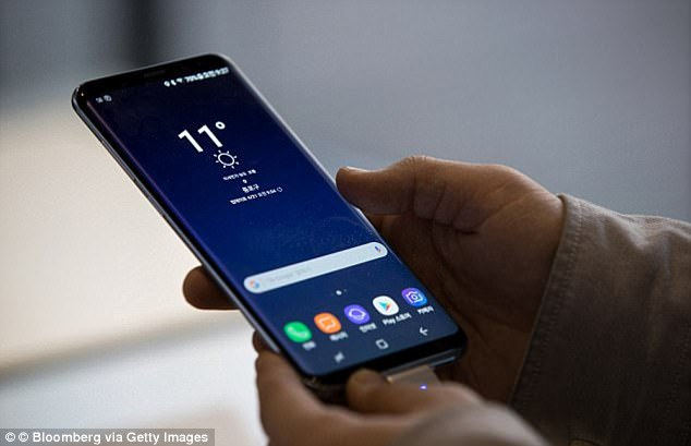 While a launch date for the Galaxy S9 is yet to be revealed, rumours suggest that the device could be unveiled at the Mobile World Congress, which is in Barcelona from 26 February ¿ 1 March 2018. Pictured is the Galaxy S8, which launched in April 2017