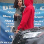 Selena & Justin Bieber Spotted Bike Ridding In LA