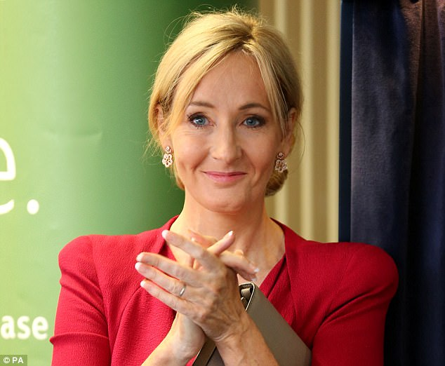 J.K. Rowling's Harry Potter website earned the author some £4.5 million last year