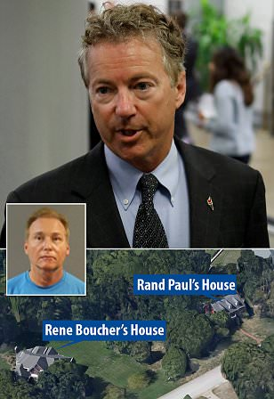 Police: Sen. Paul suffers minor injury in assault at home