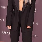 Kim Kardashian Suit Up For LACMA Art + Film Gala In LA