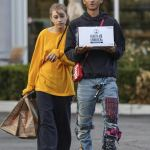 Jaden Smith And Girlfriend,Odessa Aldon Shop In Calabasas
