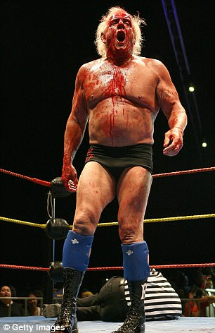 The WWE Hall of Famer Flair (pictured in 2009), known to millions as The Nature Boy, gave a moving account of his personal life in ESPN's documentary on him which aired last night