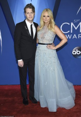 So in love! The country star was joined by her handsome beau, Anderson East
