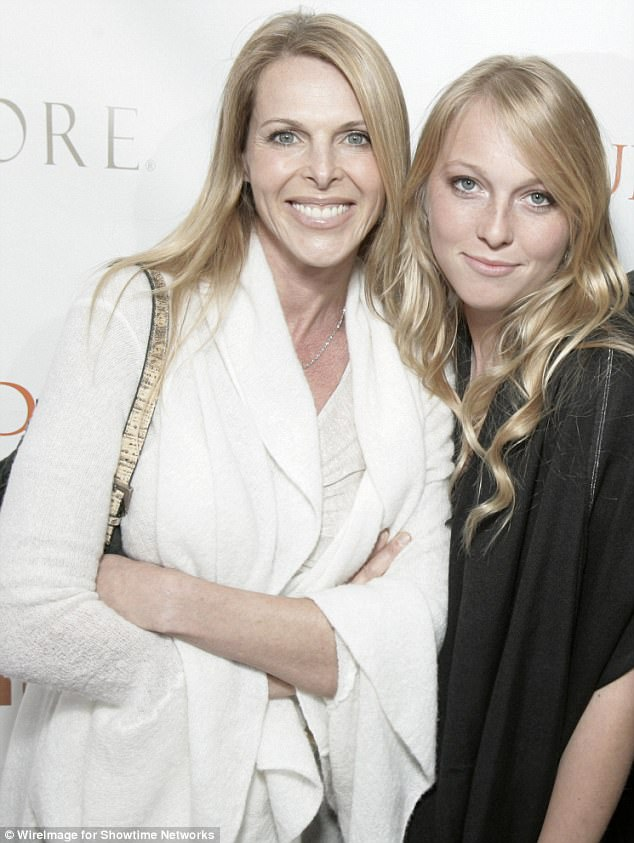 Catherine Oxenberg's (left) daughter India (right) is reportedly one of the members of the cult