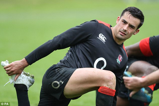 Alex Lozowski had been tipped to start but will take his place on the bench at Twickenham