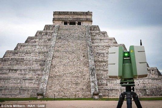 Risultati immagini per Kukulcán Temple possibly found
