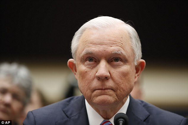 'I do now recall the March 2016 meeting at Trump Hotel that Mr. Papadopoulos attended,' said Sessions