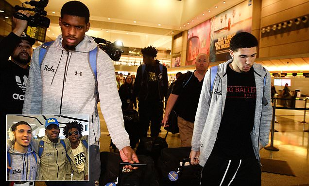 UCLA players will be disciplined after China incident