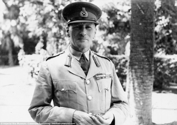 General Sir Claude Auchinleck, Commander-in-Chief, Middle East, June 1941 to August 1942. He was replaced as Commander-in-Chief Middle East Command by General Sir Harold Alexander (later Field Marshal Earl Alexander of Tunis) afterChurchill and the Chief of the Imperial General Staff, Alan Brooke, lost confidence in him