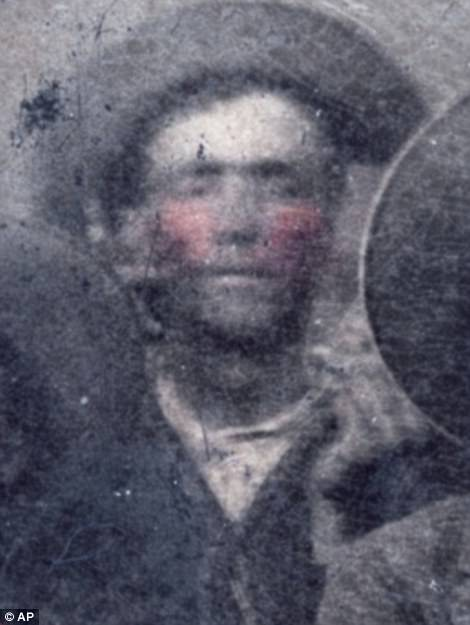 It is only the fourth known photograph of Billy the Kid and is thought to be a trophy shot taken by Garrett and his posse after they arrested him. It is believed to be now worth millions of dollars