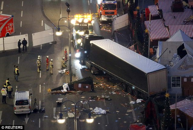ISIS has previously used Christmas celebrations as a focus for their attacks. Last year terrorist Anis Amri drove a truck into a festive market in Berlin, killing 12