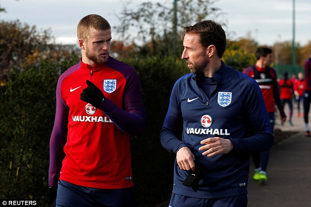 Southgate has praised Dier's reading of the game and admits he is a good sounding board