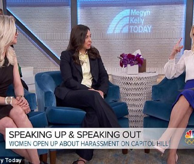 Kelly Was Interviewing Rebecca Weir R And Katherine Cichy L Two