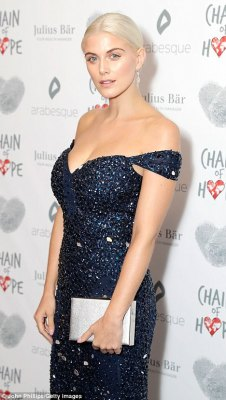 Ashley James Stuns For The Chain of Hope Gala In London