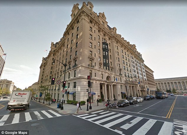 The Willard Hotel houses the two turkeys to be pardoned nearly every year. It's a beautiful Beaux-Arts building located just a block down Pennsylvania Avenue from the White House