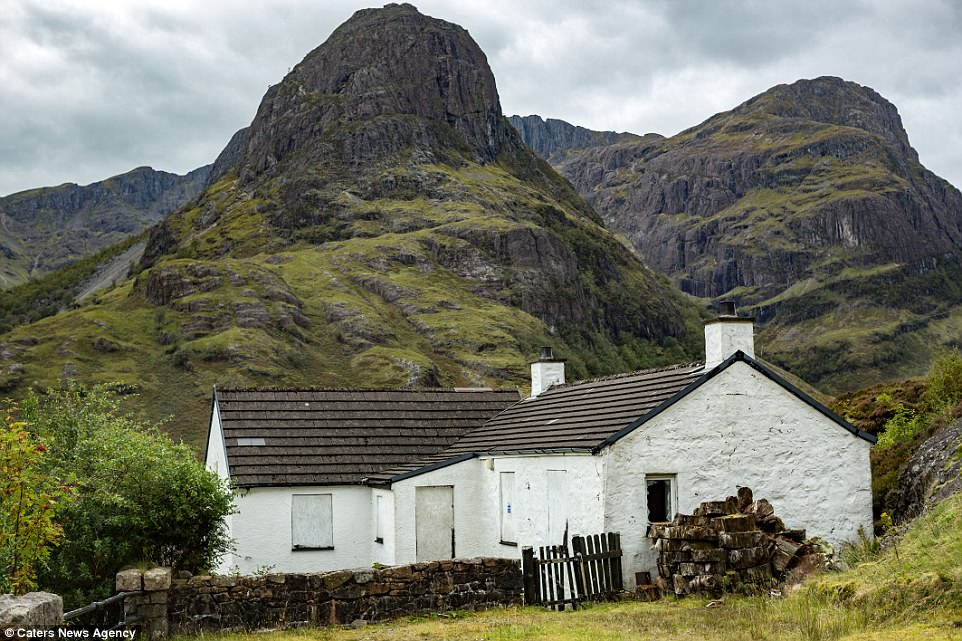 The paedophile bought the remote cottage in 1998 from renowned Scottish mountaineer and rescuer Hamish MacInnes