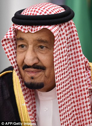 In his name: The arrests carry the authority of King Salman, but have made his son Prince Mohammed unquestionably the most powerful man in the kingdom
