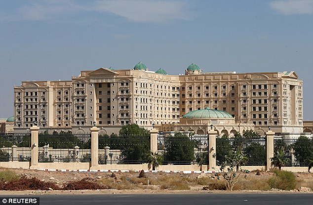 Presence: The Ritz Carlton in Riyadh is said to be guarded by Saudi special forces but inside, the interrogations are said to be carried out by American contractors. Blackwater's successor firm, Academi, denies any involvement