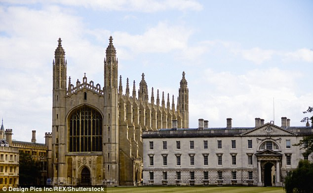 Three Cambridge University colleges, including King's College (pictured), are holding special new chapel services for gay and transgender Christians in an effort to be more inclusive