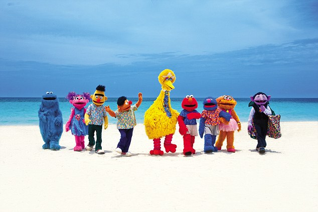 For the little ones, a day spent with the Sesame Street® characters could be a dream come true