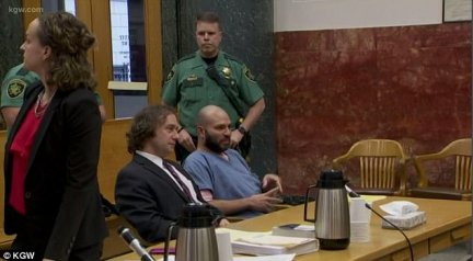 The smirking criminal told the victims' families he would 'see you in Hell' after they blasted him in court. ICE said they plan to deport him again once he's finished his 35-year prison sentence