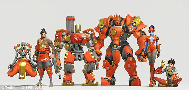 Overwatch League Fans Will Be Able To Buy In Game Jerseys