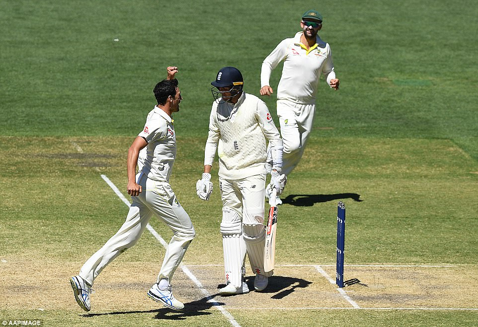 The left-armer took the wickets of Craig Overton, Jonny Bairstow and Stuart Broad on the final day to blow England away