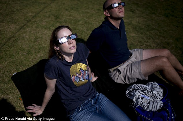 Internationally approved eclipse glasses that block the sun's UV rays were recommended by The American Astronomical Society and they warned of unapproved glasses flooding the market
