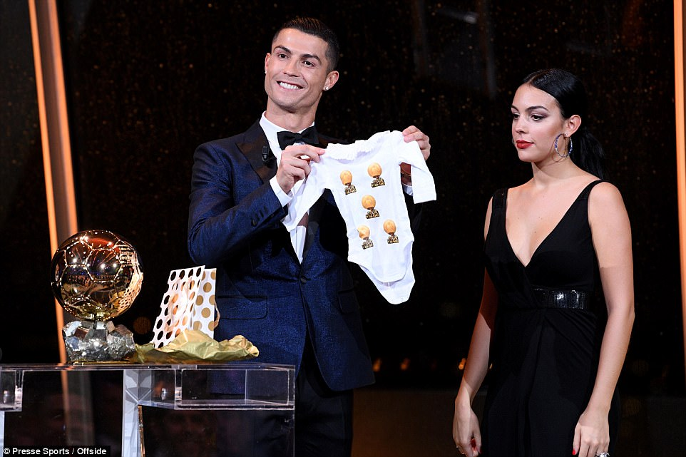Ronaldo also showed his lighthearted side, joking about wanting seven children when asked for his Christmas wishlist