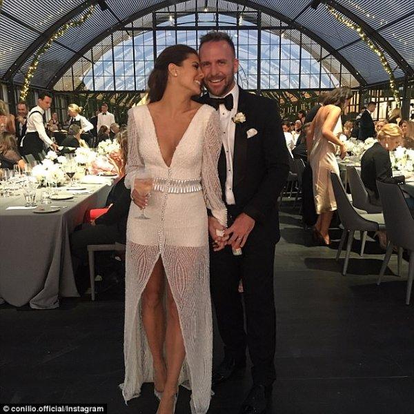 Lauren Phillips gushes over her new husband Lachlan Spark ...