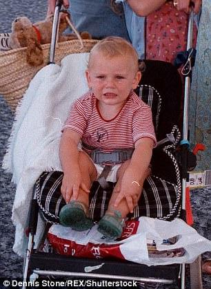 Gabriel, aged 18 months