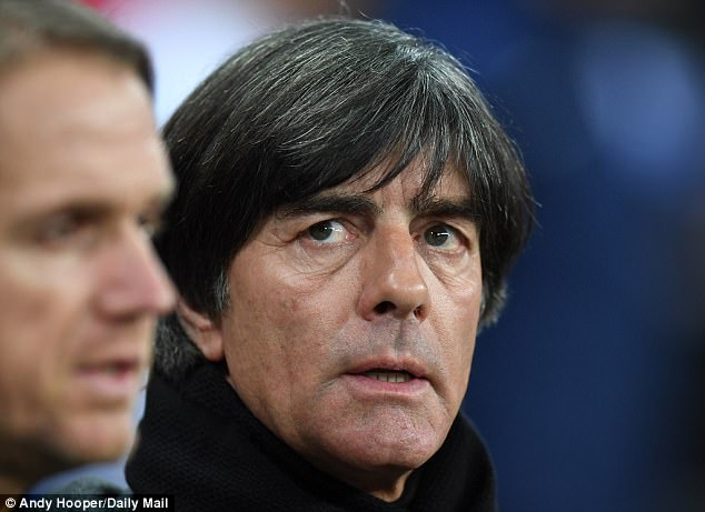 Joachim Low's side won the title in Brazil four years ago after beating Argentina in the final