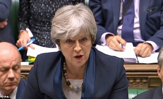 Theresa May was consigned to an humiliating Commons defeat tonight as Tory MPs revolted over demands for a 'meaningful' vote on the final Brexit deal