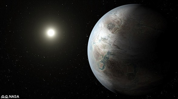 """Kepler-452b, nicknamed """"Earth 2.0"""", shares many characteristics with our planet despite being 1,400 light-years away. It was found by NASA's Kepler telescope in 2014"""