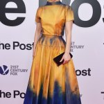 """Sarah Paulson's Style At The Premiere of Movie """"The Post"""" in NYC"""
