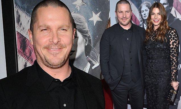 Christian Bale And Sibi Blazic At Hostiles Premiere In LA