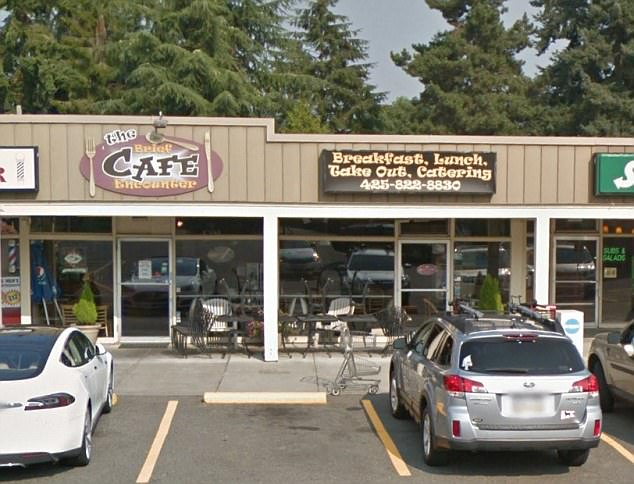 The Brief Encounter Cafe in Bellevue, Washington, where staff were given a $3,000 tip