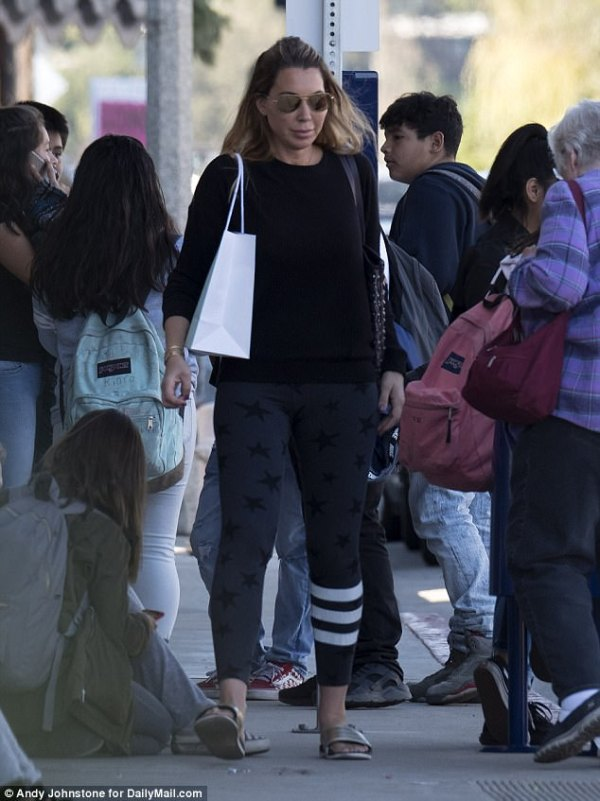 California 'queenpin' is seen shopping after drug bust