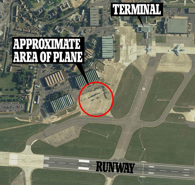 It is currently unclear how far into the base he was able to reach, however aerial footage seems to suggest he may have reached a runway at the centre of the site